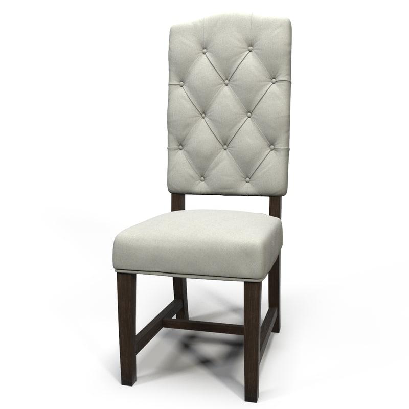tufted chair design max