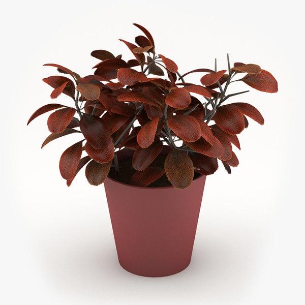 3ds max flower pot