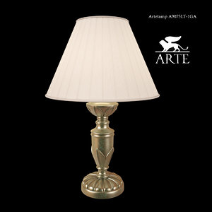 3d model table lamp arte