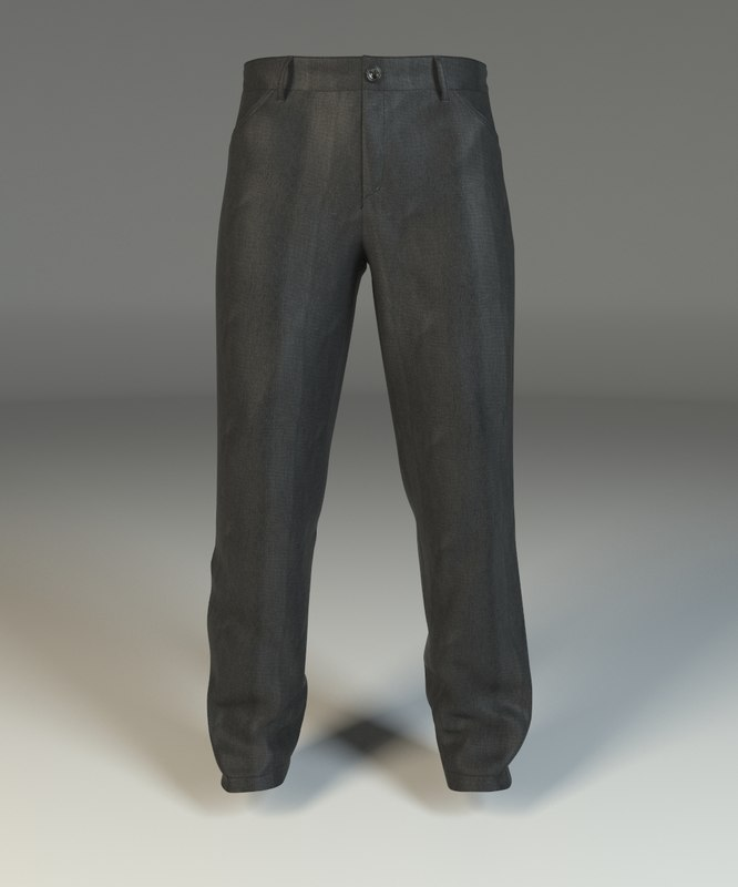 3d pants