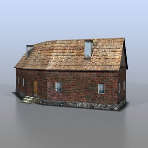 3d model house german