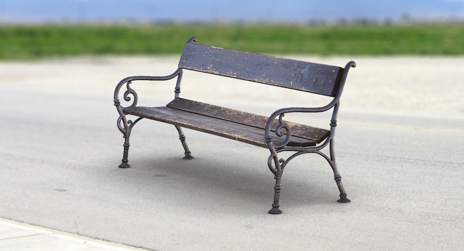 obj city bench