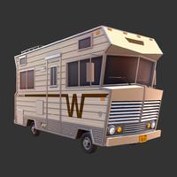 3d winnebago motorhome