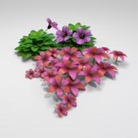 3ds flower