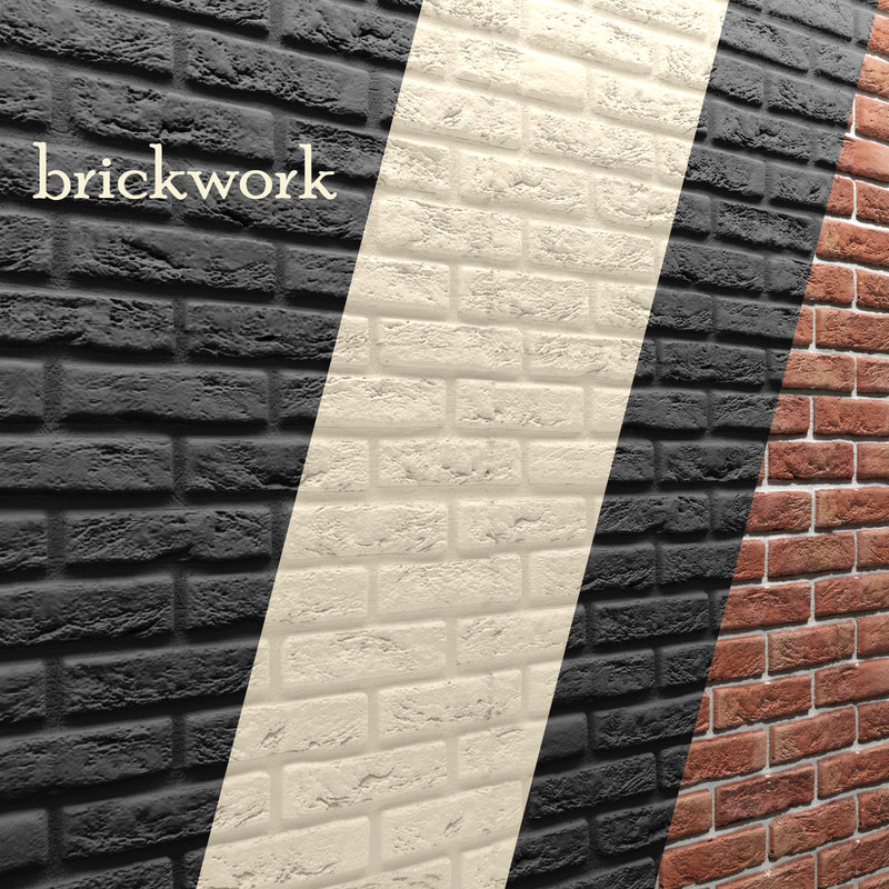 3d model bricks wall