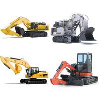 excavator komatsu hitachi 3ds