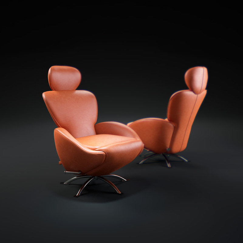 3d k10-dodo-by-cassina model