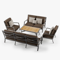 Outdoor Lounge Set 2