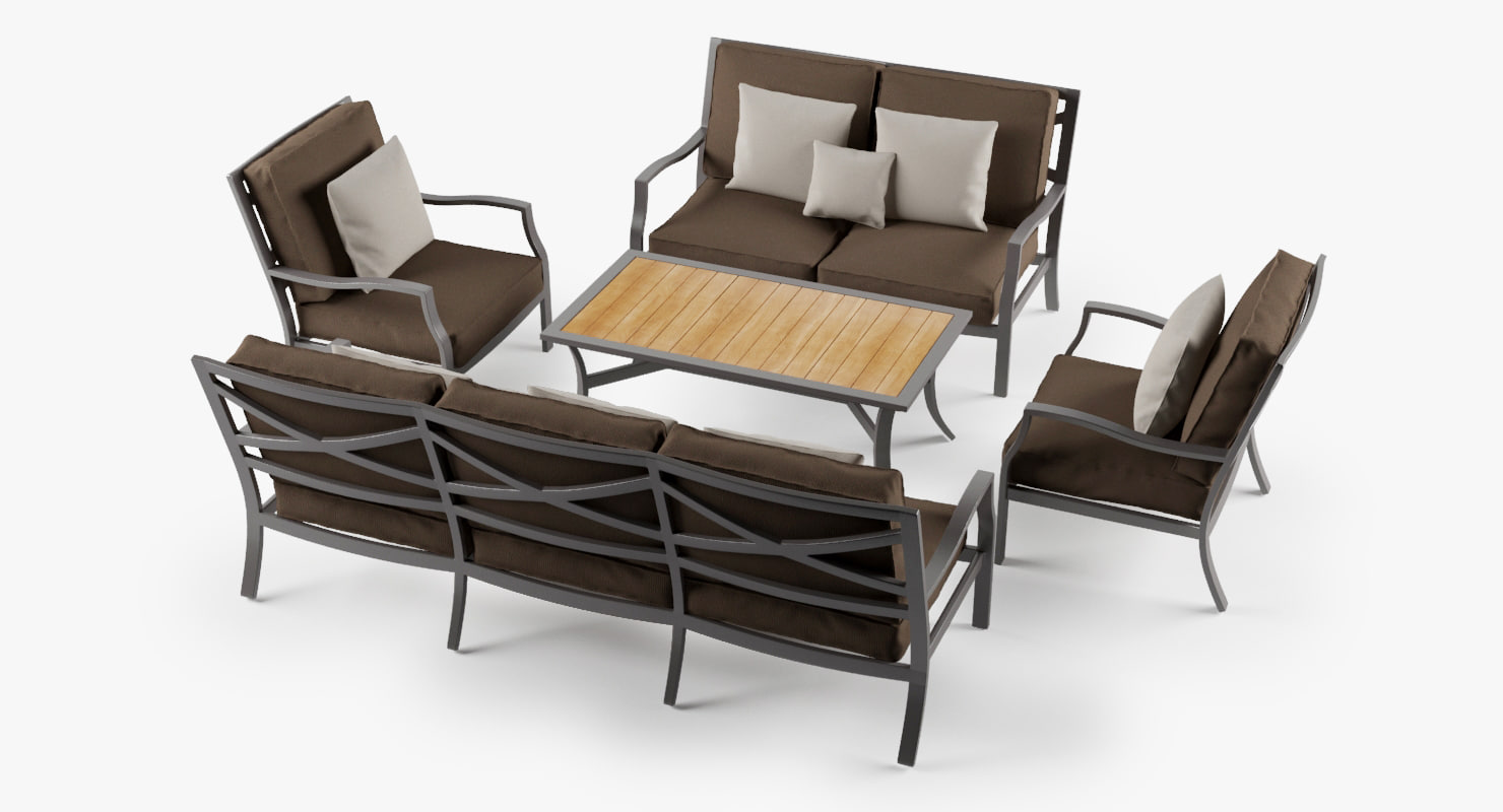 max set lounge chair 2