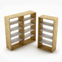shelves 3d max