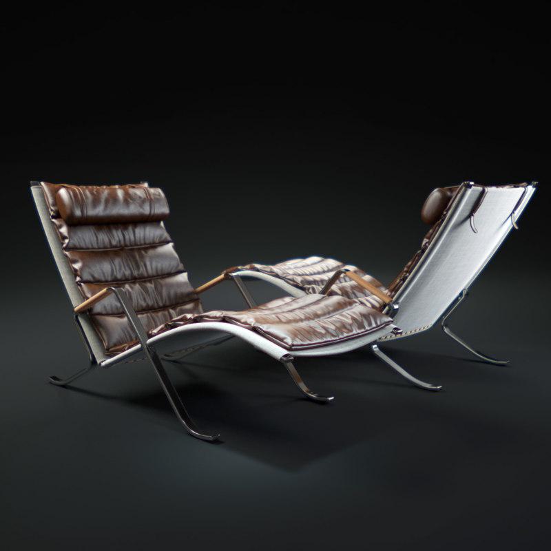 max fk-87-grasshopper-chair
