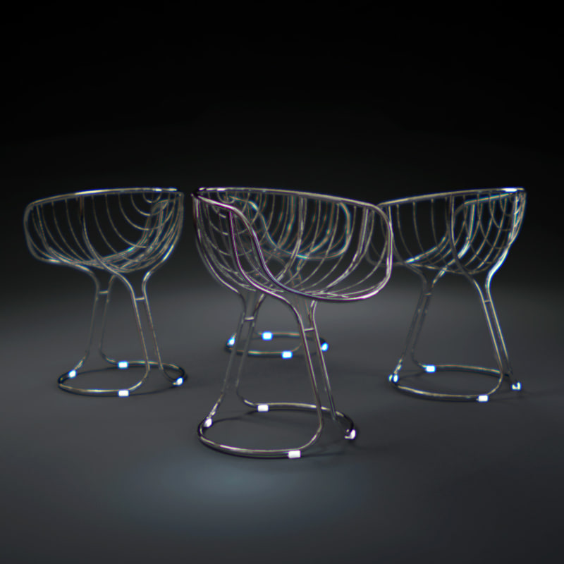 pan-am-chairs 3d obj