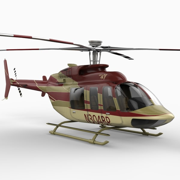 maya bell 407 helicopter
