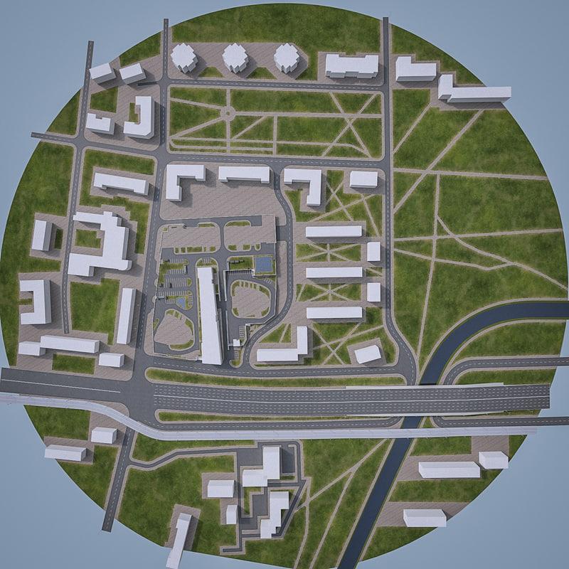 urban area obj