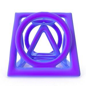 free printing modelled 3d model