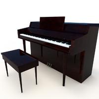 c4d classic piano