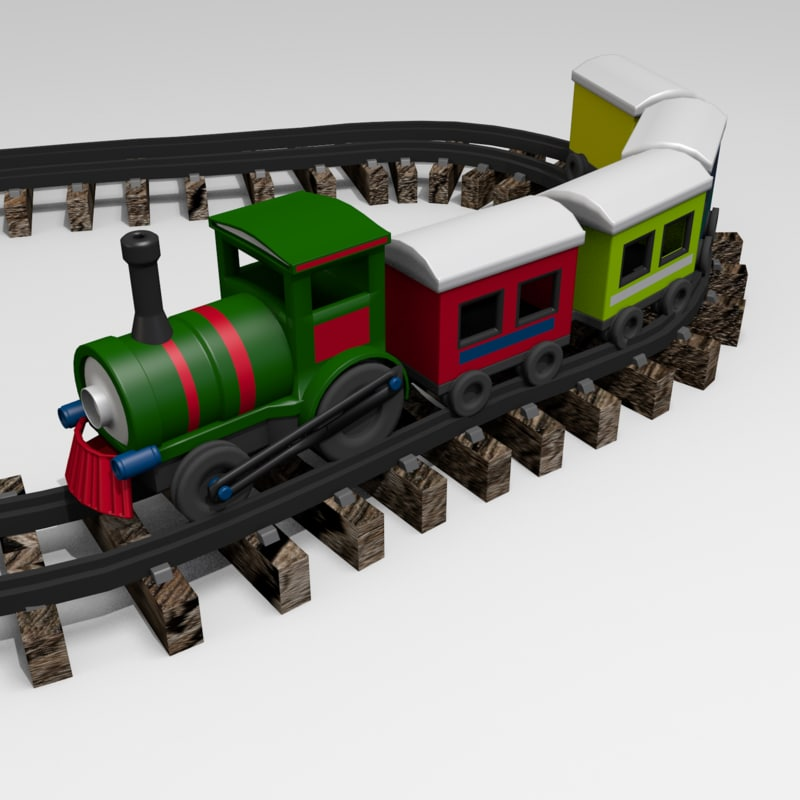 locomotive loco 3d model