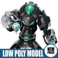3ds max robot bot