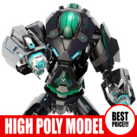 Galactic Robot_06 - High_poly