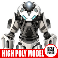 Galactic Robot_07 - High_poly