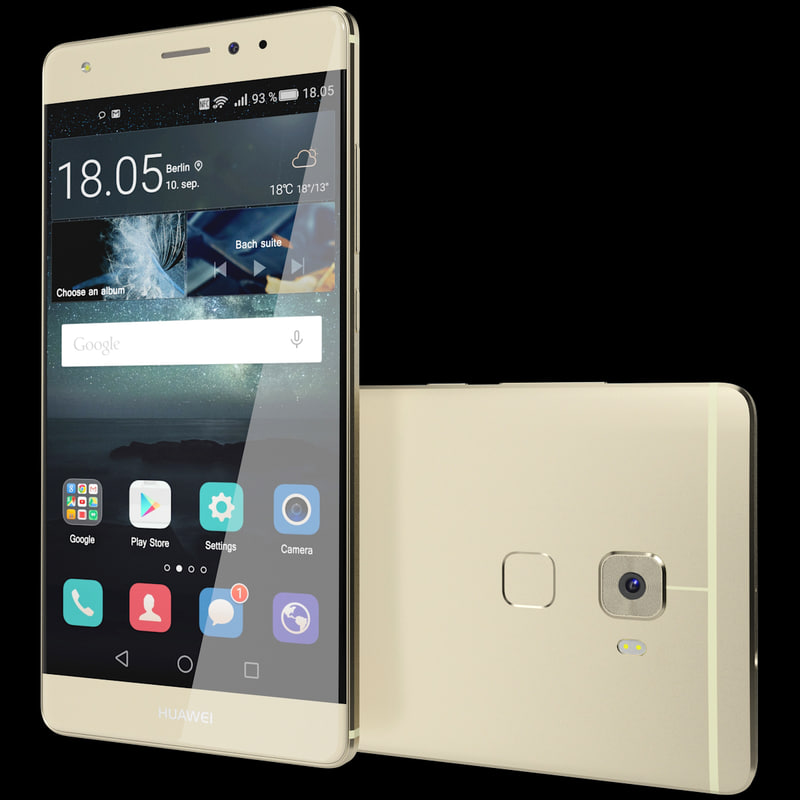 realistic huawei mate s 3d max