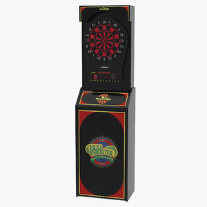 electronic dartboard machine 3d model