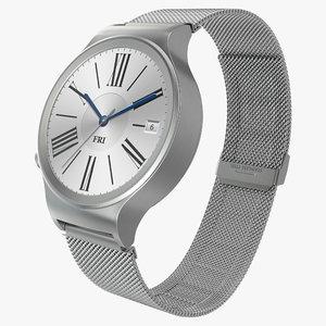 3d huawei watch 3 metal