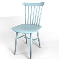 3d 3ds tucker chair design