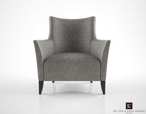 3d sofa chair sail armchair model