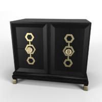 3d cabinet tables model