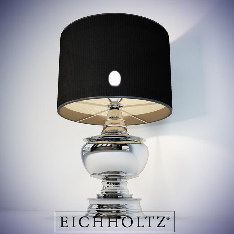 eichholtz lamp pagoda 3d model