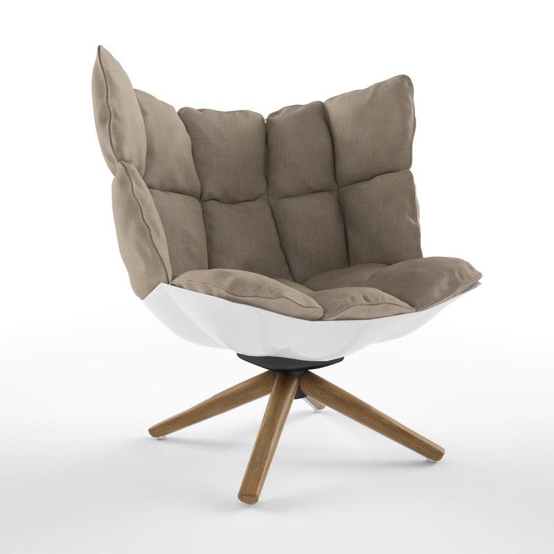 max husk chair b italia
