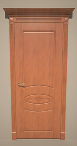 3ds max door classical style