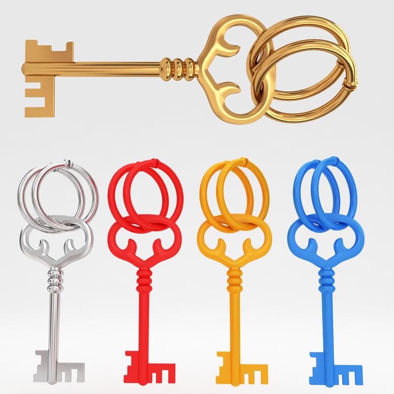 ma ancient old luxury key
