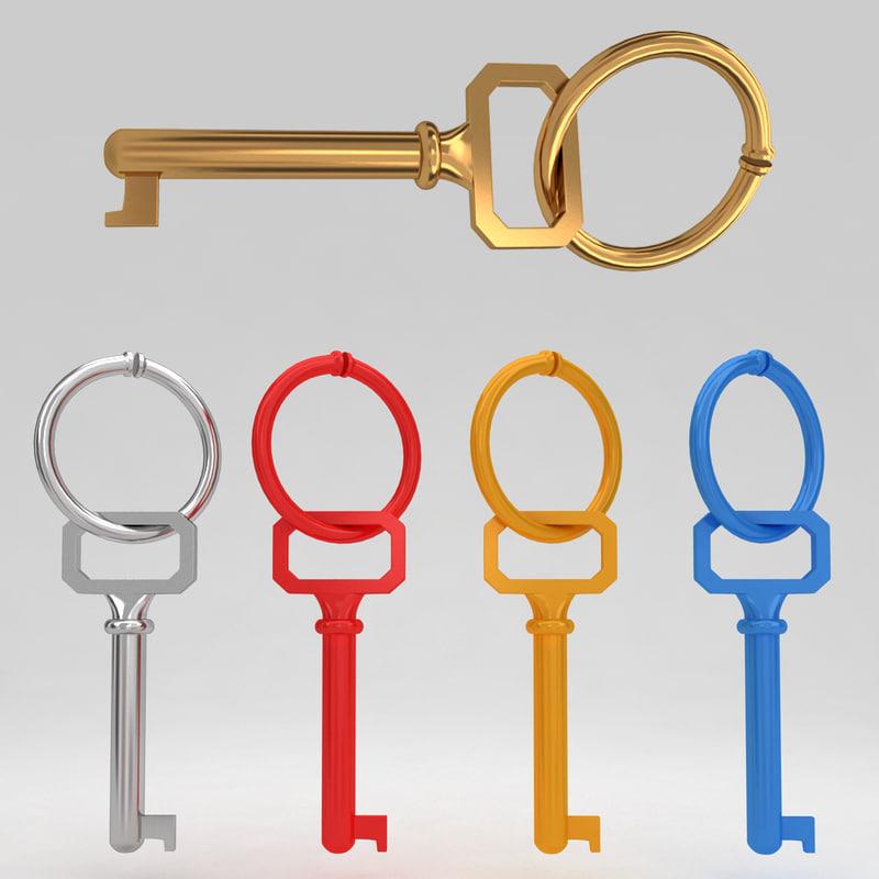 3d max ancient old key