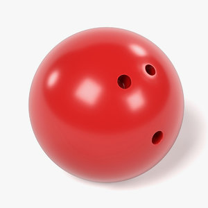 3d model bowling ball
