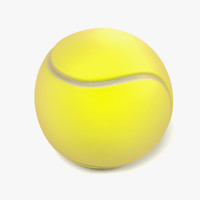 3ds max tennis ball