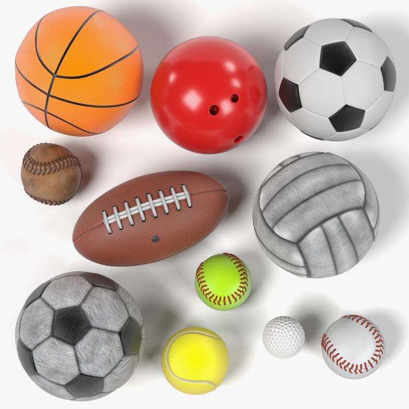 sport balls 3d 3ds