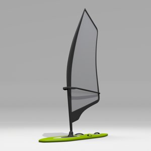 3ds max windsurfing wind surf