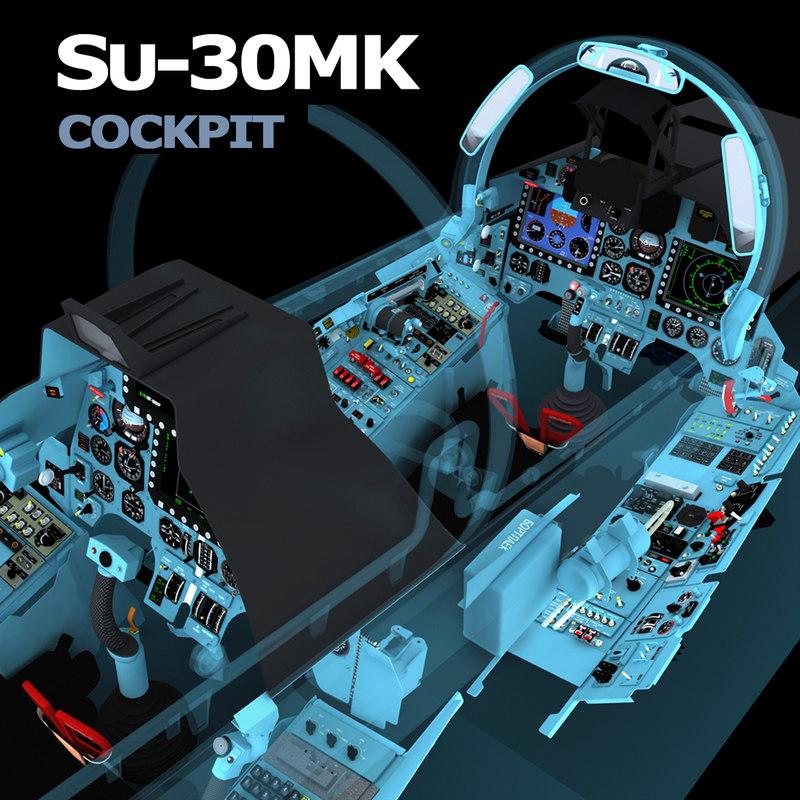 max cockpit su-30 su-30mk