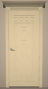 3d max door