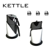 kettle t 3d model