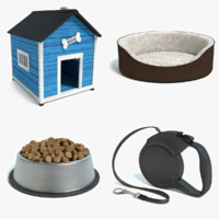 Dog Accessories Set
