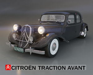 traction avant citroen max