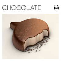 speech chocolate c4d