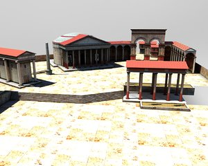3ds max ancient rome