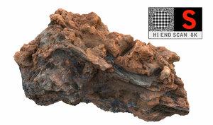 volcanic rock 8k 3d model