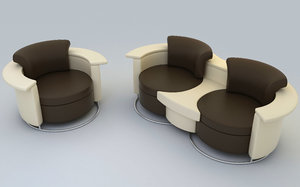 sofa set 3ds