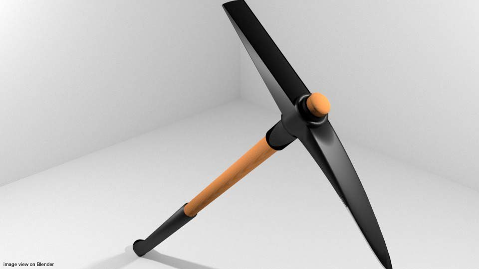 civil tool 3d model