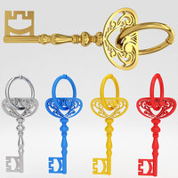 max ancient old luxury key